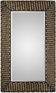 Uttermost 09309 Kurupa Twisted Bronze Wall Mirror