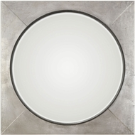 Uttermost 09316 Solomon Metallic Silver Wall Mirror