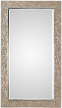 Uttermost 09320 Sahel Textured Pine Wall Mounted Mirror