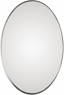 Uttermost 09354 Pursley Brushed Nickel Oval Wall Mounted Mirror