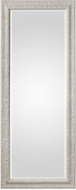 Uttermost 09360 Pateley Lightly Distressed Soft White with Subtle Bronze Aged White Wood Mirror