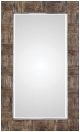 Uttermost 09364 Barlow Rustic Wood Mirror