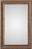 Uttermost 09373 Armadale Mahogany Bronze with Gold Leaf Mirror