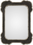 Uttermost 09386 Bellano Textured Aged Black Wall Mirror