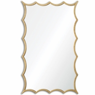 Uttermost 12892 Dareios Gold 23.625  Wide Mirror