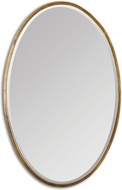 Uttermost 12894 Herleva Gold Oval 17.75  Wide Mirror