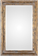 Uttermost 12896 Davagna Distressed Antiqued Gold Wall Mirror