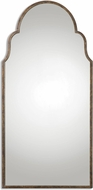 Uttermost 12905 Brayden Rust Bronze With Gold Leaf Tall Arch Mirror