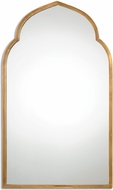 Uttermost 12907 Kenitra Plated Antiqued Gold Gold Arch Mirror