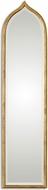 Uttermost 12910 Fedala Antiqued Gold Leaf Gold Mirror