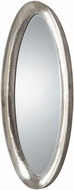 Uttermost 12941 Copparo Silver Oval Wall Mounted Mirror