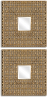Uttermost 13873 Adelina Squares 18 Tall Mirrors (set of 2)