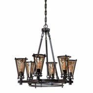 Uttermost 21263 Frisco 33.5  Tall Chandelier Lamp