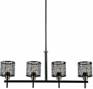 Uttermost 21286 ThinAlita Dark Weathered Bronze / Antique Brass Kitchen Island Lighting
