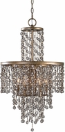 Uttermost 21288 Valka Silver Swedish Iron Drop Ceiling Lighting