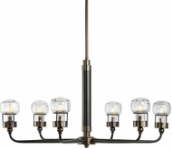 Uttermost 21313 Graham Contemporary Dark Weathered Bronze Chandelier Lighting