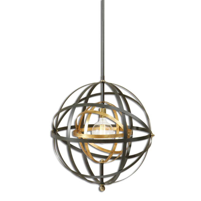 Uttermost 22038 rondure contemporary dark oil rubbed bronze finish uttermost 22038 rondure contemporary dark oil rubbed bronze finish 225nbsp wide lighting pendant loading zoom mozeypictures Images