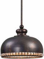 Uttermost 22084 Brusett Chapman / Gold Leaf Ceiling Pendant Light