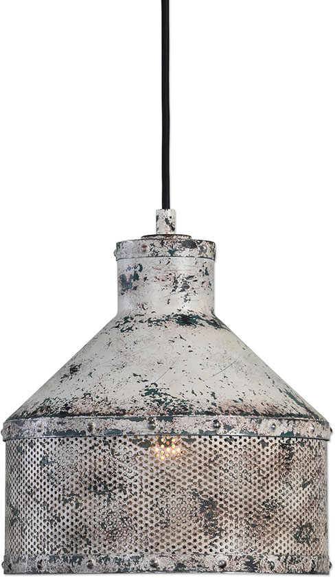 uttermost 22087 granaio vintage distressed ivory with rust mini pendant lighting fixture  loading zoom uttermost 22087 granaio vintage distressed ivory with rust mini      rh   affordablelamps