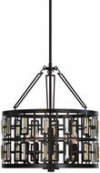 Uttermost 22115 Rhombus Weathered Bronze Ceiling Light Pendant