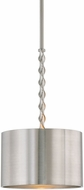 Uttermost 22131 Tori Modern Brushed Nickel Drum Hanging Pendant Lighting