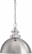 Uttermost 22134 Mantz Modern Polished Nickel Pendant Hanging Light
