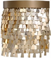 Uttermost 22501 Tillie Contemporary Textured Gold Wall Sconce