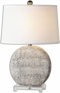 Uttermost 26132 Albinus White 27  Tall Table Lamp