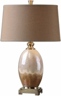 Uttermost 26156 Eadric Ceramic 29.5  Tall Side Table Lamp