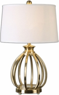 Uttermost 26167 Decimus Brass 18  Wide Table Light