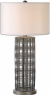Uttermost 26177-1 Engel Metal Wire 16  Wide Table Lamp Lighting