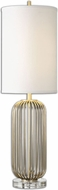 Uttermost 26184-1 Cesinali Plated Antique Gold Finish 34 Tall Lighting Table Lamp