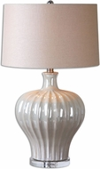 Uttermost 26201 Capolona 16.75 Wide Side Table Lamp