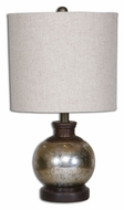 Uttermost 26208-1 Arago Antique Glass 15  Tall Table Lighting