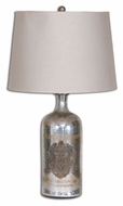 Uttermost 26209 Borel Antique Glass 13  Wide Lighting Table Lamp