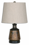Uttermost 26211 Mela Hand Painted 11  Wide Table Top Lamp