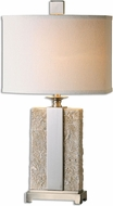 Uttermost 26508-1 Bonea Stone Ivory Lighting Table Lamp