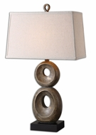Uttermost 26562 Osseo Dusty Gray Wash Lighting Table Lamp - 31 Inches Tall