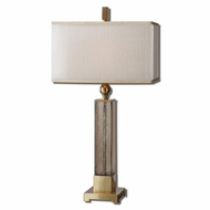 Uttermost 26583-1 Caecilia 33 Tall Table Lamp