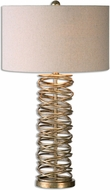 Uttermost 26609-1 Amarey Metal Ring Table Lamp