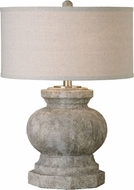 Uttermost 26614-1 Verdello Antiqued Stone Table Top Lamp
