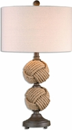 Uttermost 26615-1 Higgins Rope Spheres Table Lamp
