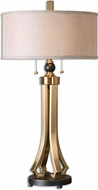 Uttermost 26631-1 Selvino Brushed Brass Table Lighting