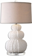 Uttermost 26671 Fontanne Shell Ivory Table Lamp Lighting