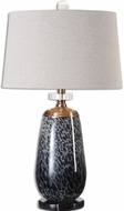Uttermost 26687 Vergato Gun Metal Table Light