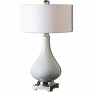Uttermost 26768-1 Helton 11 Wide Table Top Lamp