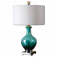 Uttermost 26770-1 Yvonne 29 Tall Side Table Lamp