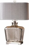 Uttermost 26851-1 Molinara Mercury Glass Table Lamp Lighting
