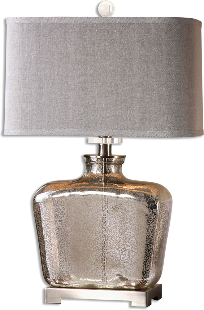 Uttermost 26851 1 Molinara Mercury Glass Table Lamp Lighting. Loading Zoom