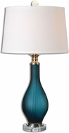 Uttermost 26902 Shavano Polished Nickel Table Lamp Lighting